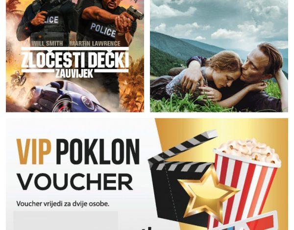 LJ&Z poklanja Cinema City VIP Vaučere – vi birate film i termin za gledanje!