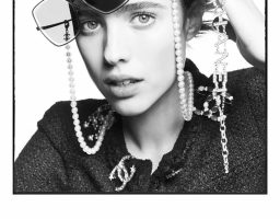 Margaret Qualley u reklamnoj kampanji Chanel eyewear