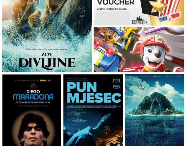 LJ&Z POKLON: Cinema City VIP vaučeri za film i termin po vašoj želji!