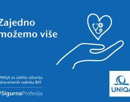 UNIQA osiguranje doniralo 20.000 KM za borbu protiv koronavirusa