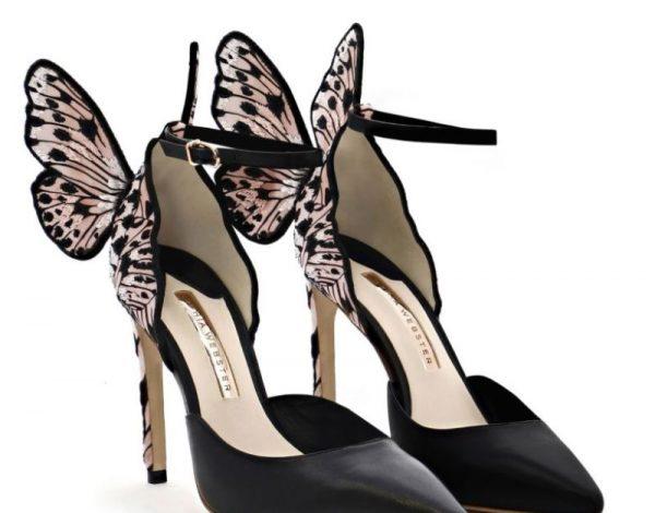 Zaljubljeni smo u Sophia Webster sandale sa krilima leptira!