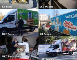 Podravka donirala 50.000 KM bolnicama u BiH