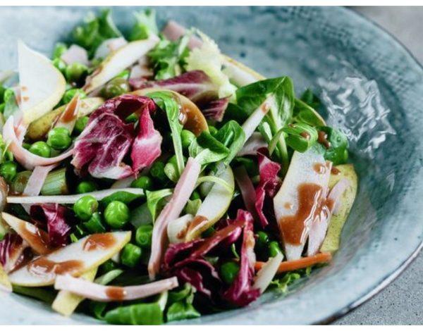 Salata od graška i šunke