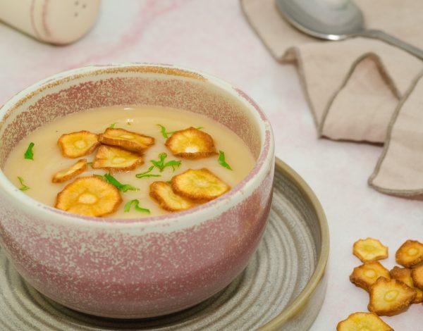 Krem supa od paškanata s pinjolima