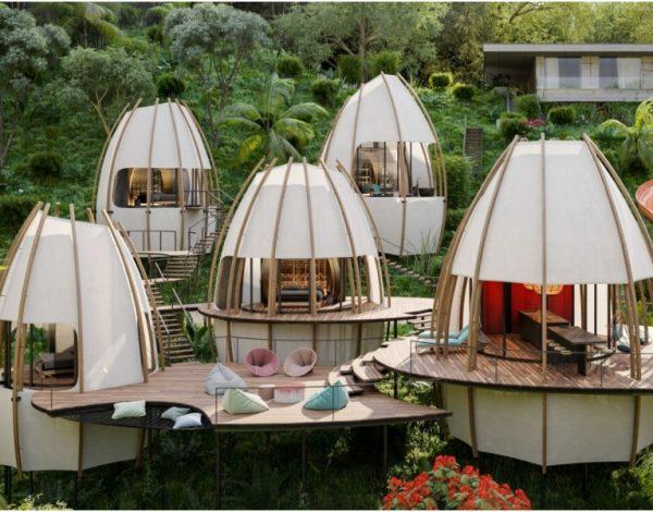 Rajske kuće u džungli Kostarike za odmor iz snova (FOTO)