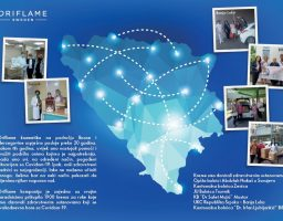 Oriflame kozmetika donirala 1.900 krema za ruke zdravstvenim radnicima u BiH