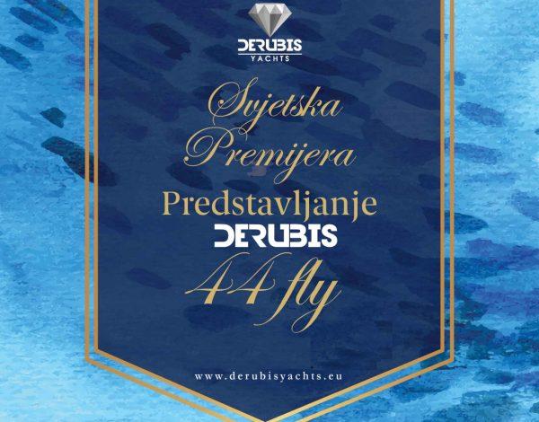 Svjetska premijera novog modela broda Derubis Yachts na Trgu BiH u Sarajevu