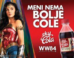 Nova edicija Sky Cole posvećena je hrabroj i pravednoj Wonder Woman
