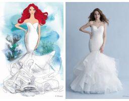 Vjenčanje kao iz bajke u haljinama inspirisanim Disney princezama! FOTO