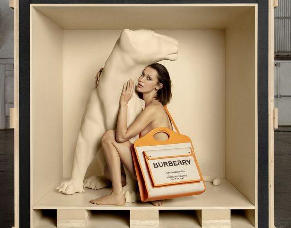 Bella Hadid u novoj Burberry kampanji (FOTO)
