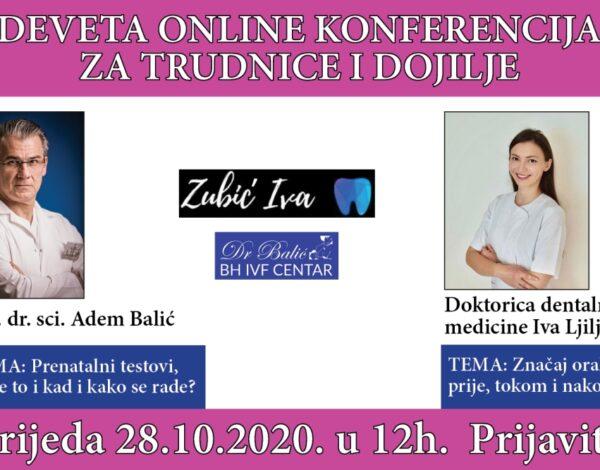 Deveta online konferencija za trudnice i dojilje