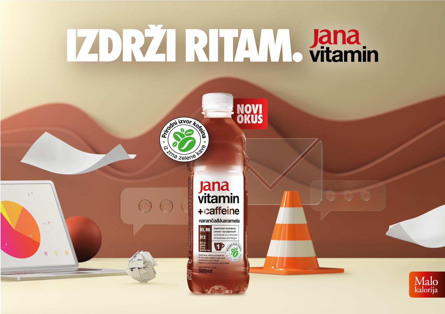 Jana vitamin s kofeinom